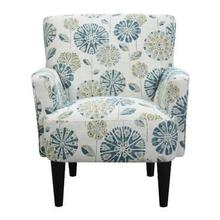 View Product - U3535-05-05 Flower Power Accent Chair - Cascade Mineral