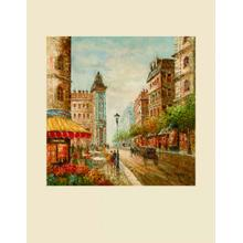 Flower Market- Canvas