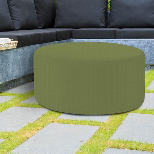 Universal Round Ottoman Seascape Moss