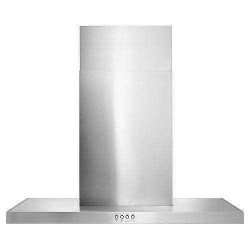 "Product Image - 30"" Stainless Steel Wall Mount Flat Range Hood"