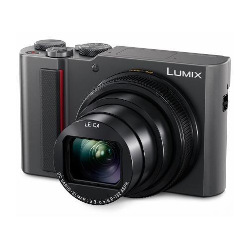 LUMIX 4K Digital Camera ZS200 with 20.1 Megapixel Sensor - Silver - DC-ZS200S
