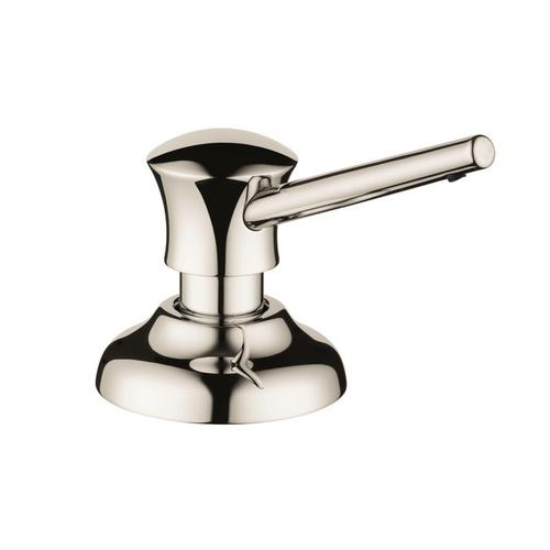 Steel Optic Soap Dispenser, Traditional
