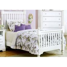 Twin Slat Poster Bed