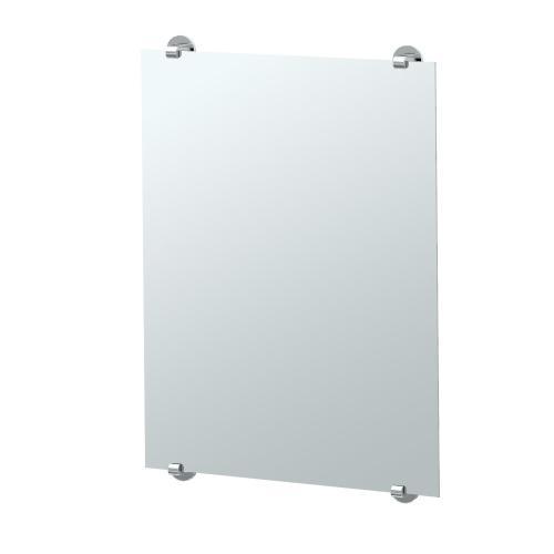 Zone Minimalist Mirror in Chrome