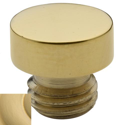Baldwin - Lifetime Satin Brass Button Finial