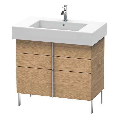 Duravit - Vanity Unit Floorstanding, European Oak (decor)