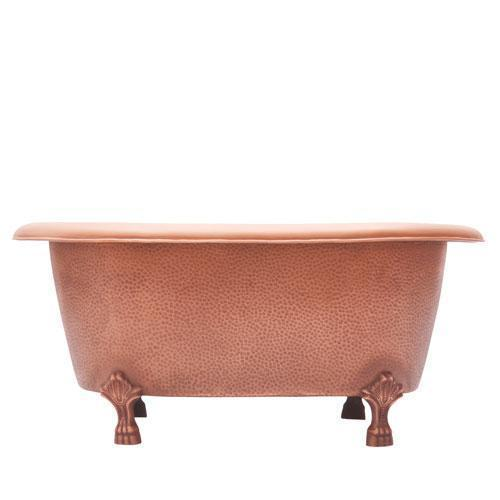 "Picasso 32"" Copper Double Roll Top Tub"
