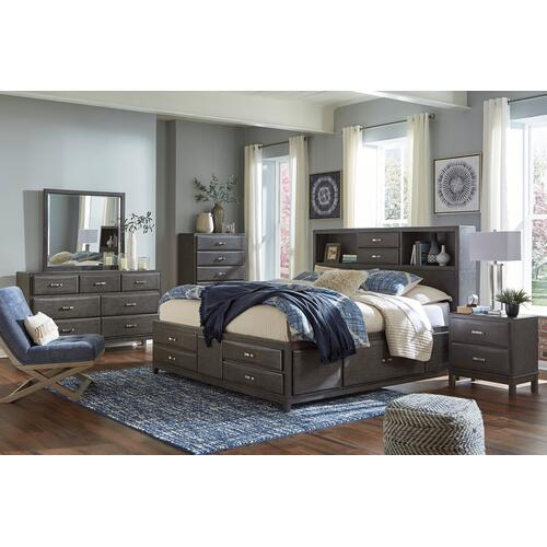 Caitbrook - Gray 2 Piece Bedroom Set