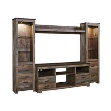 View Product - Trinell - Brown 4 Piece Entertainment Set