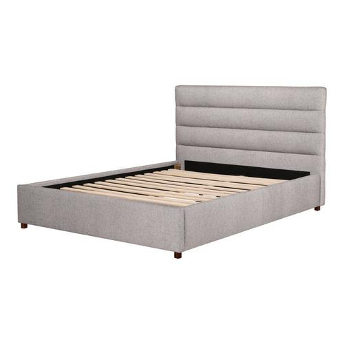 Moe's Home Collection - Takio King Bed Light Grey