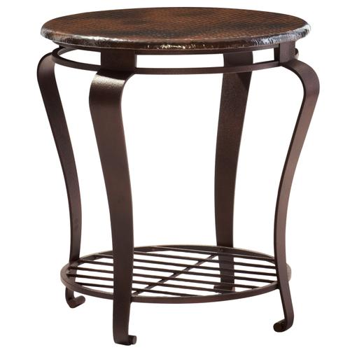 Clark Round End Table