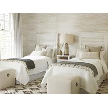 Royal Palm Louvered Headboard Twin Headboard