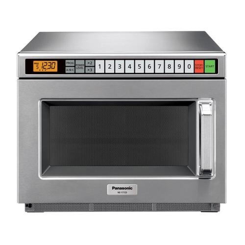 Panasonic - 1700 Watt Compact Commercial Microwave Oven with 60 Programmable Memory Pads and SD programming