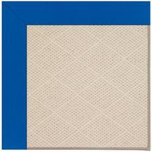 Creative Concepts-White Wicker Canvas Pacific Blue