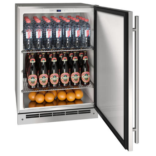 """24"""" Keg Refrgierator With Stainless Solid Finish (115 V/60 Hz Volts /60 Hz Hz)"""