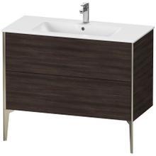 View Product - Vanity Unit Floorstanding, Chestnut Dark (decor)