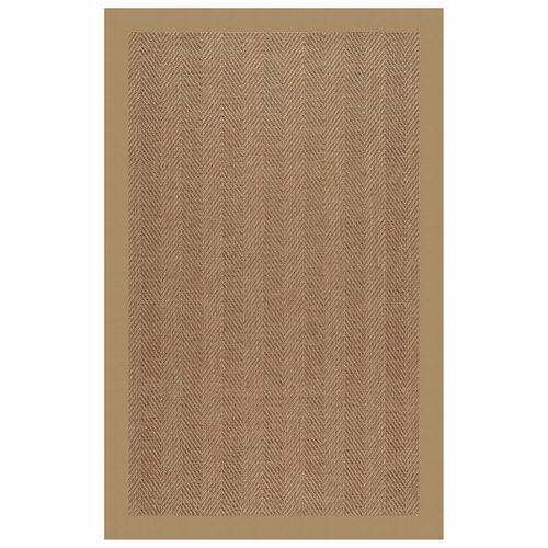 "Capel Rugs - Islamorada-Herringbone Canvas Linen - Rectangle - 24"" x 36"""