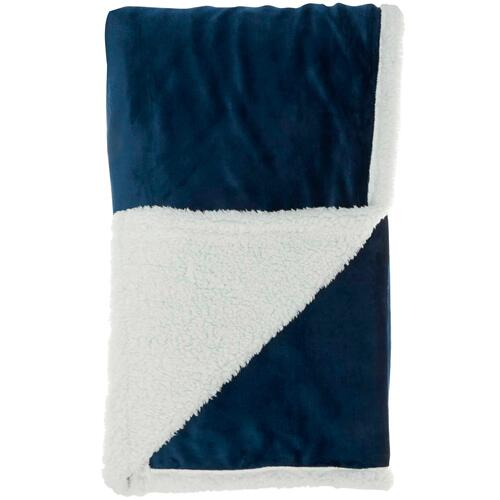 "Throw Blankets Sn102 Navy 50"" X 60"""