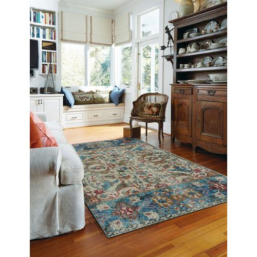 Banaz-Manisa China Blue Machine Woven Rugs