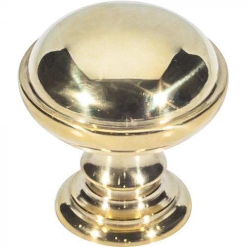 Vesta Fine Hardware - Ronan Knob 1 1/2 Inch Unlacquered Brass Unlacquered Brass