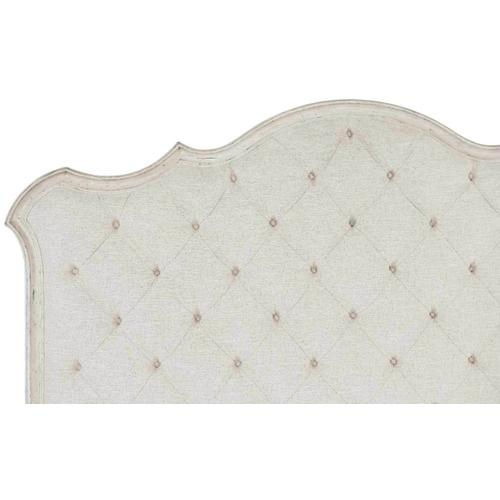 Queen Mirabelle Upholstered Panel Bed in Cotton (304)