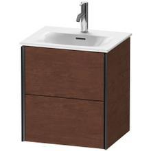View Product - Vanity Unit Wall-mounted, American Walnut (real Wood Veneer)