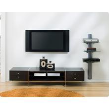 Three Shelf Cable Management