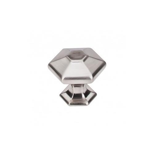 Spectrum Knob 1 1/8 Inch - Brushed Satin Nickel