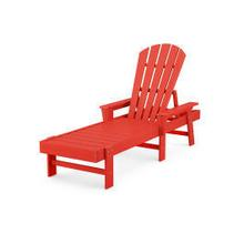 View Product - South Beach Chaise in Sunset Red
