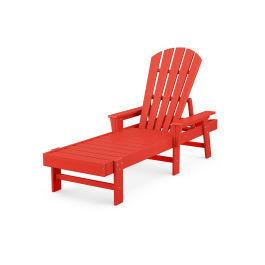 Polywood Furnishings - South Beach Chaise in Sunset Red