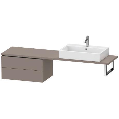 Low Cabinet For Console Compact, Basalt Matte (decor)