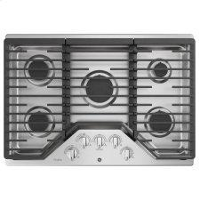 """30"""" Built-In Gas Cooktop with 5 Burners and an Optional Extra-Large Cast Iron Griddle"""