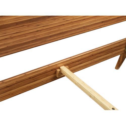 Greenington Fine Bamboo Furniture - Ventura King Platform Bed, Amber