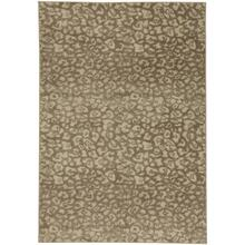 "Leopard Beige - Rectangle - 5'3"" x 7'6"""