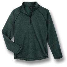 Subtle heathering brings this quarter-zip to the next level.
