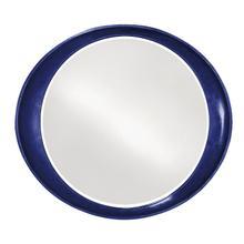 See Details - Ellipse Mirror - Glossy Navy
