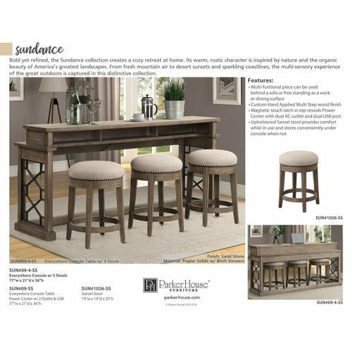 Parker House - SUNDANCE - SANDSTONE Cocktail Table