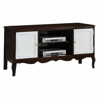 ACME Mathias TV Stand - 91230 - Walnut & White
