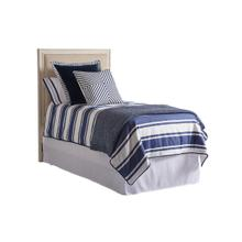 View Product - Crystal Cove Upholstered Panel Headboard Twin Headboard