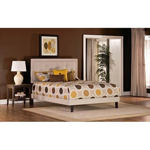 Hillsdale Furniture - Becker King Bed Set - Cream Fabric