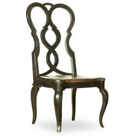 Dining Room Auberose Splatback Wood Seat Side Chair - 2 per carton/price ea