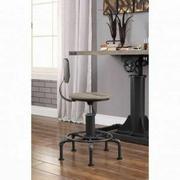 ACME Baara Chair - 22047 - Natural & Sandy Gray Product Image