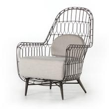 Manten Outdoor Wing Chair-silver River