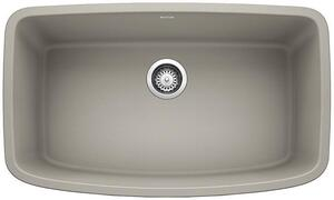 Valea® Super Single Bowl - Concrete Gray Product Image