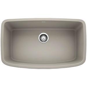 Valea® Super Single Bowl - Concrete Gray