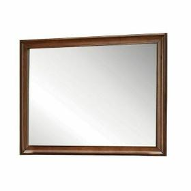ACME Konane Mirror - 20457 - Brown Cherry