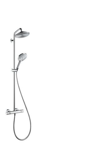Chrome Showerpipe 240 1-Jet, 2.5 GPM Product Image