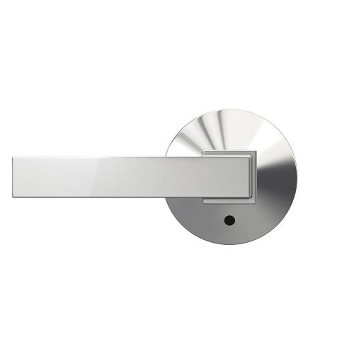 Custom Northbrook Non-Turning Lever with Kinsler Trim - Bright Chrome