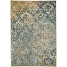 "Caravan-Adriatic Tuscan Blue - Rectangle - 5'3"" x 7'6"""