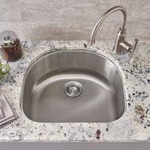 See Details - Portsmouth Undermount 23x21 Single Bowl Kitchen Sink  American Standard - Stainless Steel